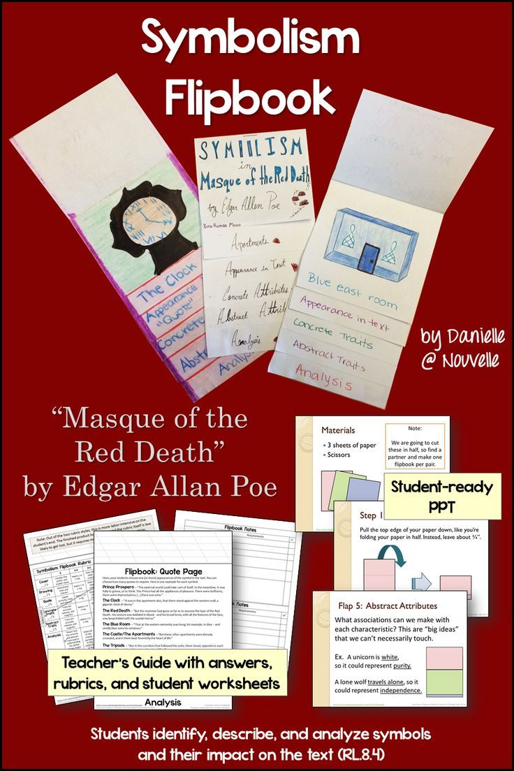 Symbolism flipbook and powerpoint masque of the red death by symbolism flipbook and powerpoint masque of the red death by edgar allan poe buycottarizona