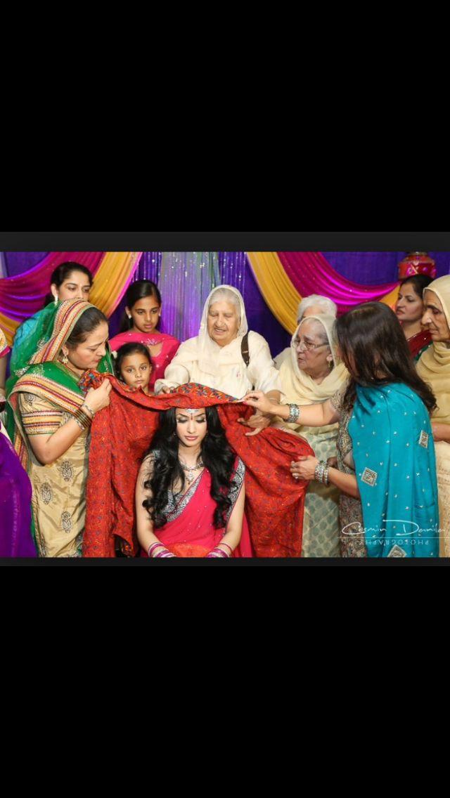 Chunni Ceremony Sikh WeddingSaturday Morning