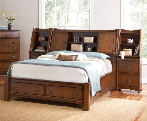 I want this bed!! Coaster 201851KE Grendel Country Eastern King Bed