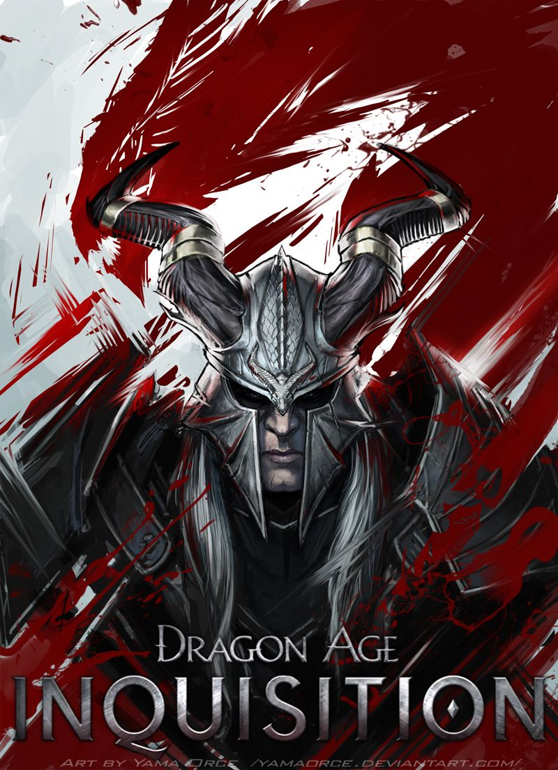 Dragon Age Inquisition - Qunari Inquisitor Created by Yama Orce