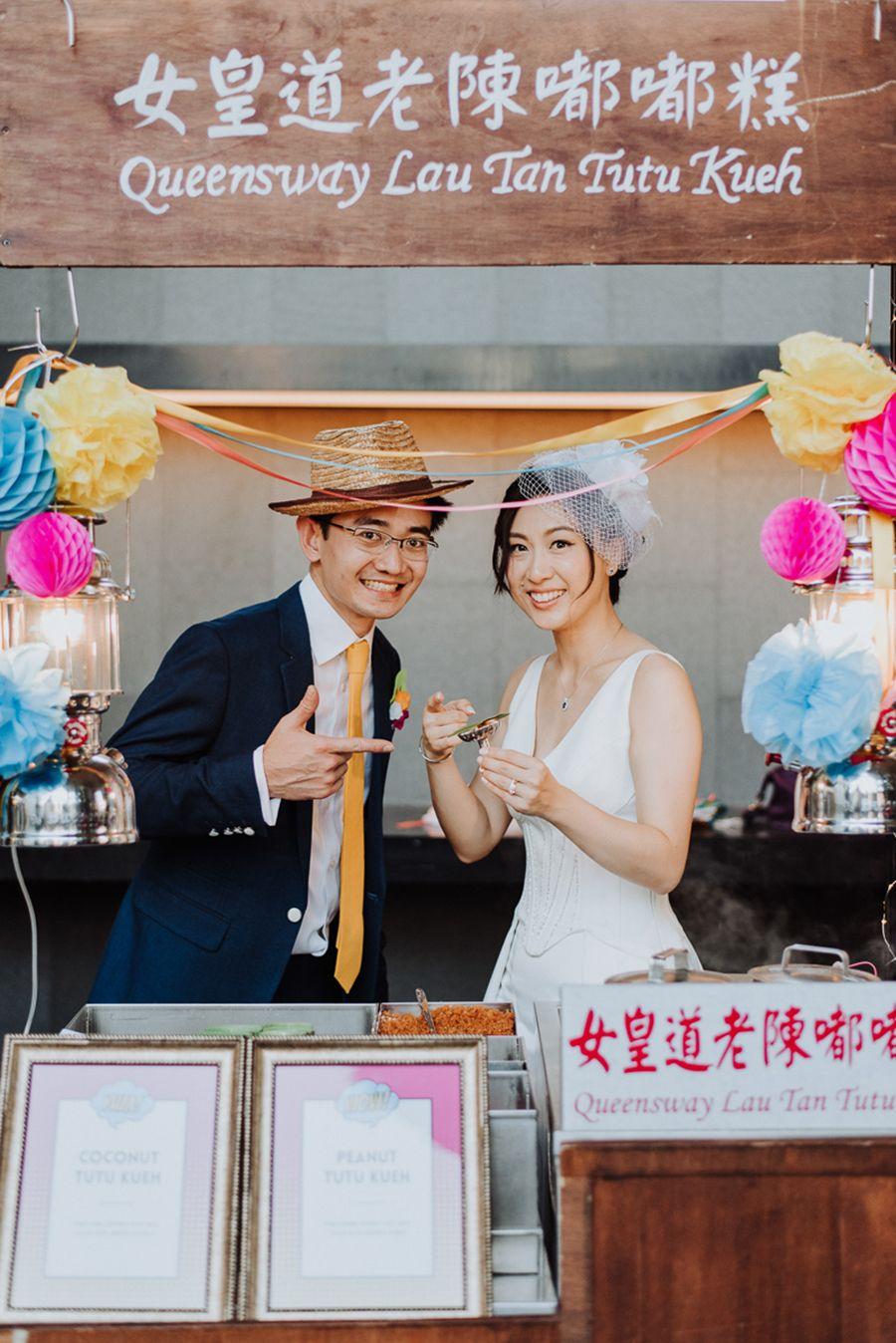 Wedding Eujin and Yingyingu0027s Pop Art Themed Singapore