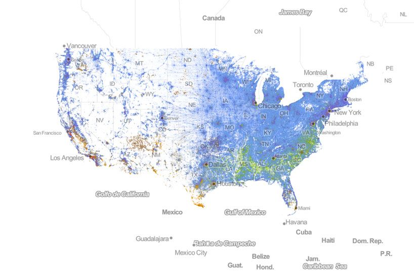 Census Infographic Exposes Racial Segregation In America Info