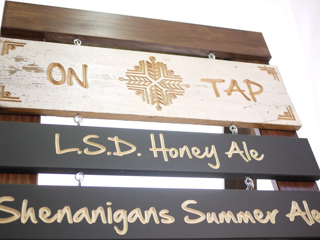 Get your message out to the street with a custom sidewalk sign. Did I mention we love beer?...