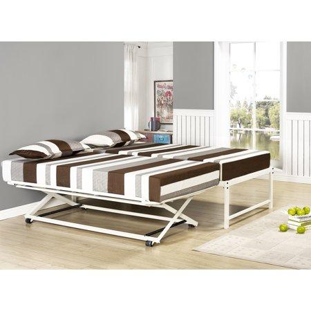 Home Pop up trundle, Platform daybed, Day bed frame