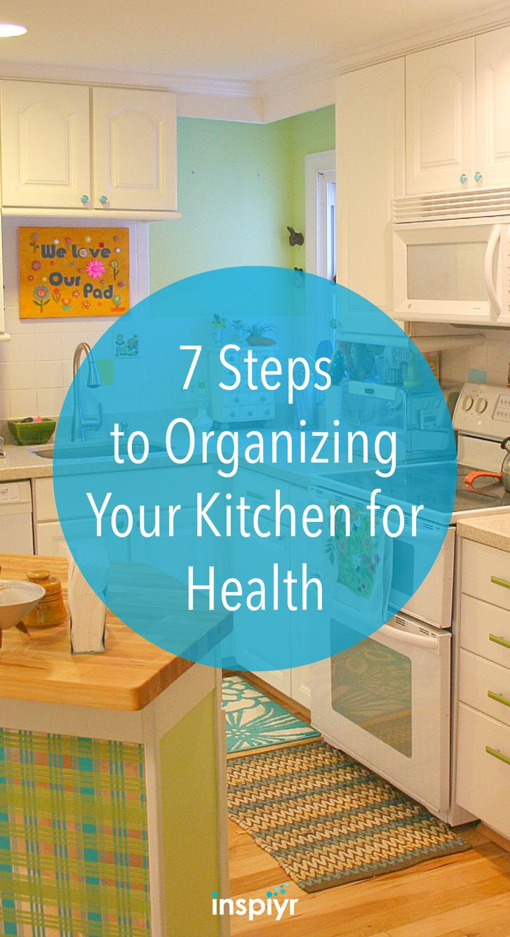 7 Steps to Organizing Your Kitchen for Health by Inspiyr.com ...