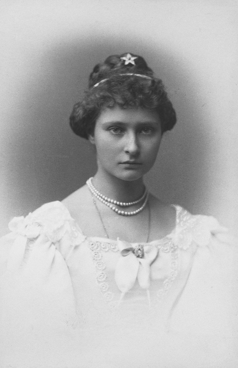 Princess Alix of Hesse, 1887 [in Portraits of Royal Children Vol.35 1886-1887] | Royal Collection Trust