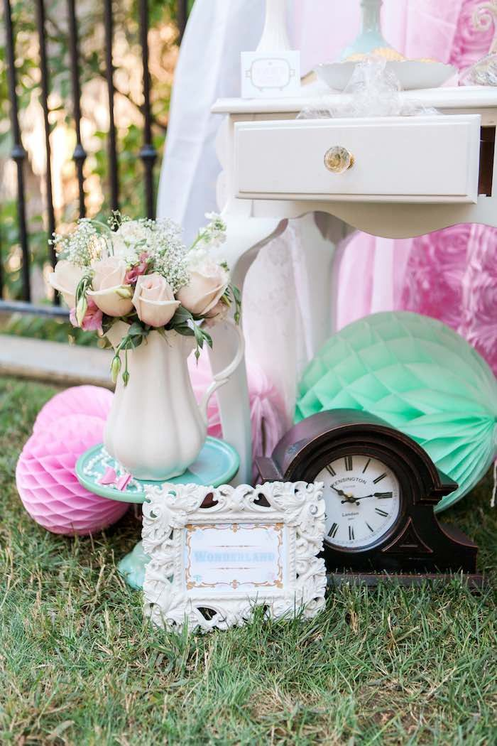 Decor from a Shabby Chic Alice In