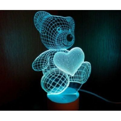 Koolulu 3d Optical Illusion Desk Night Light Unique Night Lights Bedroom Night Light Night Light
