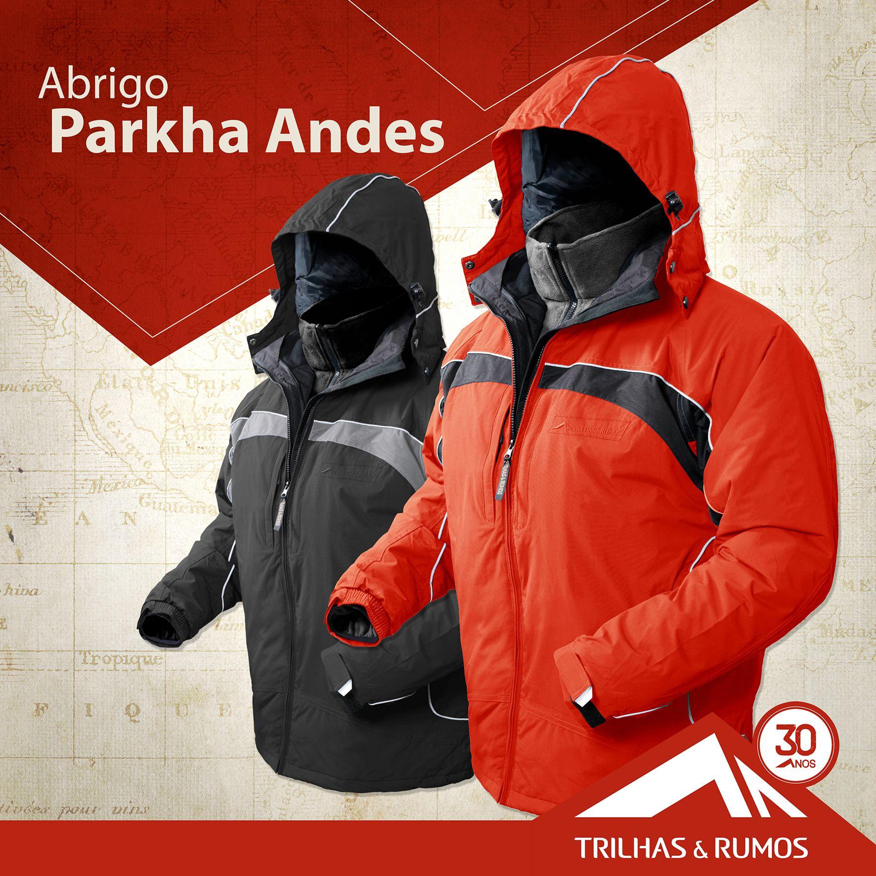 Abrigo Parkha Andes Ii Caracteristicas Em Tecido Respiravel E
