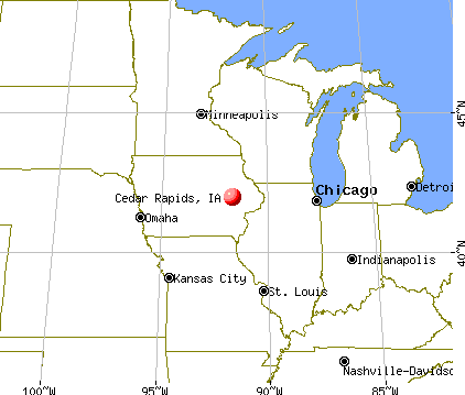 Cedar Rapids Map Cedar Rapids, Iowa map | Iowa  Cedar Rapids area ♥ | Midwest city
