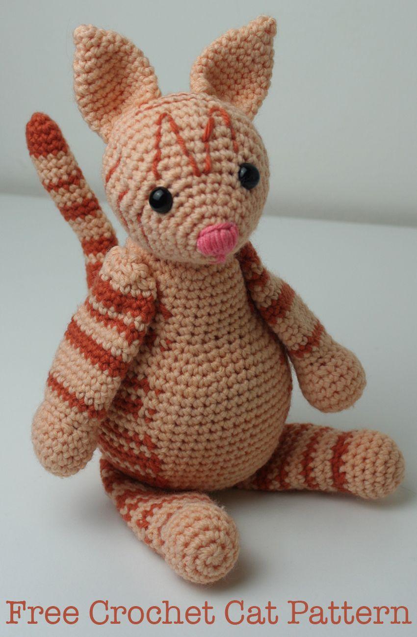 Crochet Cat Pattern | Free amigurumi and crochet toy patterns ...