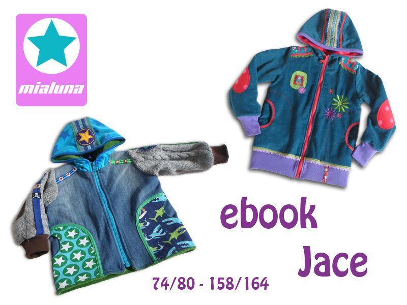 "ebook "" Jace"" Jacke Übergangsjacke  Schnittmuster von mialuna auf DaWanda.com"