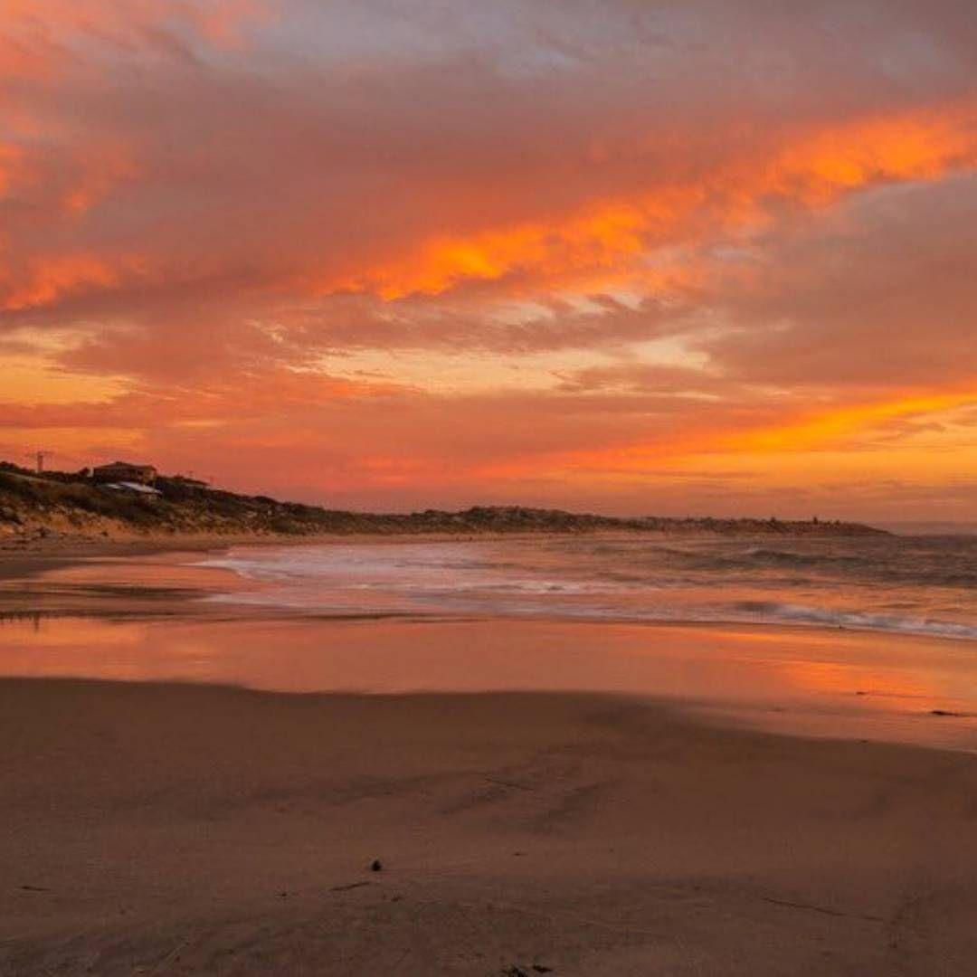 Kangaroo Island Beaches: We Love The Orange Hues Of This Sunset @huddlestone