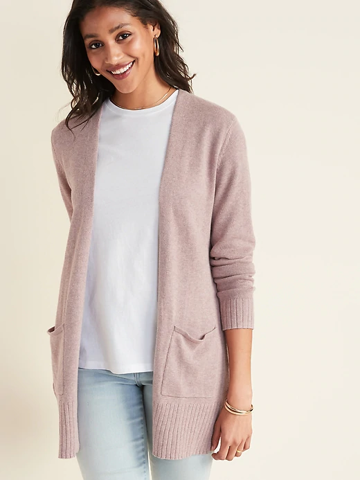 Open Front Long Line Sweater for Women | Old Navy in 2020