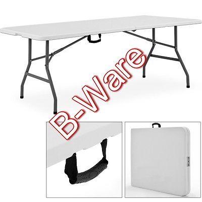 B Ware Xxl Buffettisch 240cm Campingtisch Gartentisch