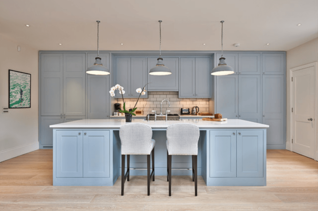 Pantone Airy Blue Concepts And Colorways Blue Kitchen Cabinets Luxury Kitchen Cabinets Custom Kitchen Cabinets