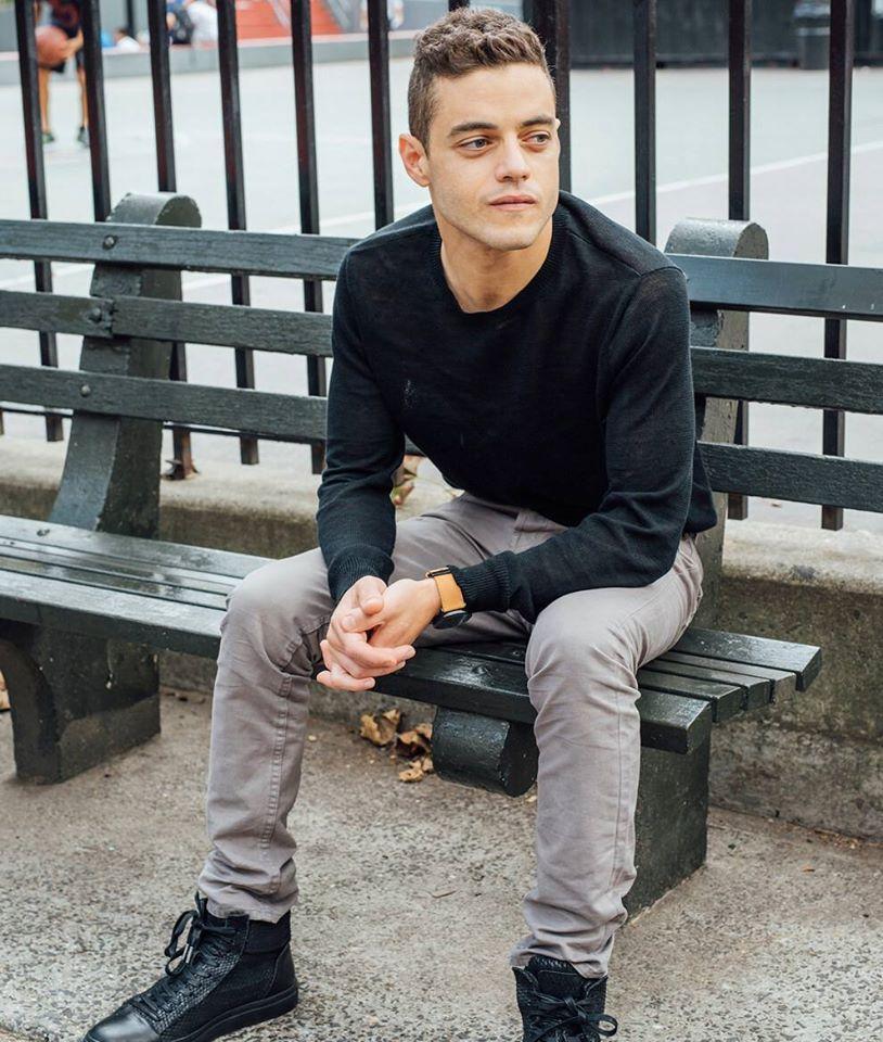 Rami Malek S Photoshoot With Photographer Cait Oppermann For Rami Malek S Interview With Alison Wilmore For Buzzfeed News Rami Malek Rami Said Malek Heartthrob