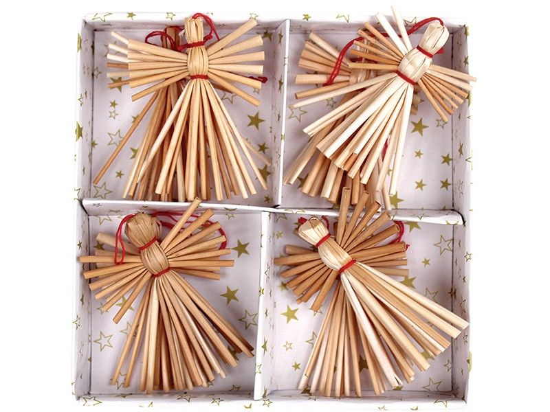 Straw Angel Ornaments Straw Paper Tree Ornaments Christmas Christmas Crafts Decorations Straw Crafts Angel Ornaments Diy