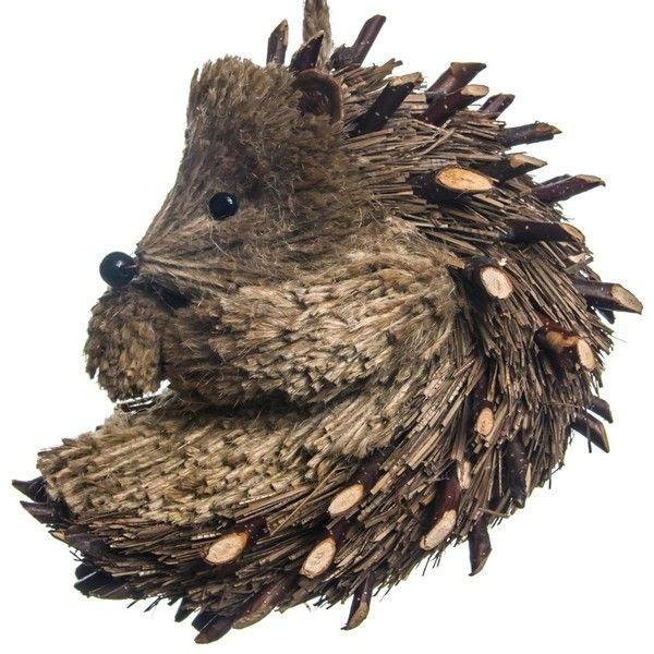 Sisal Hedgehog Ornament | Woodland Christmas | Cracker Barrel Old...  ($9.99) · Hedgehog HomeHoliday OrnamentsHoliday DecorationsWoodland ...