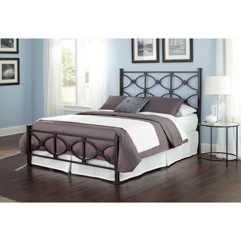 Fashion Bed Group Marlo Metal Bed B12475 Bed Styling Metal