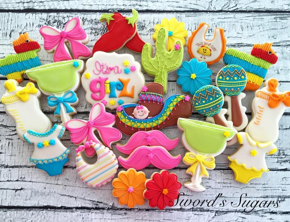 fiesta baby shower by swordu0027s sugars