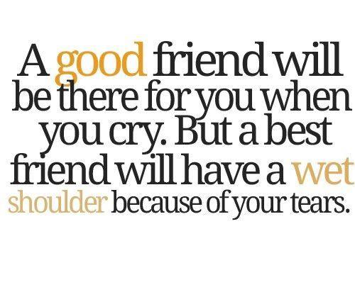 A Good Friend Will