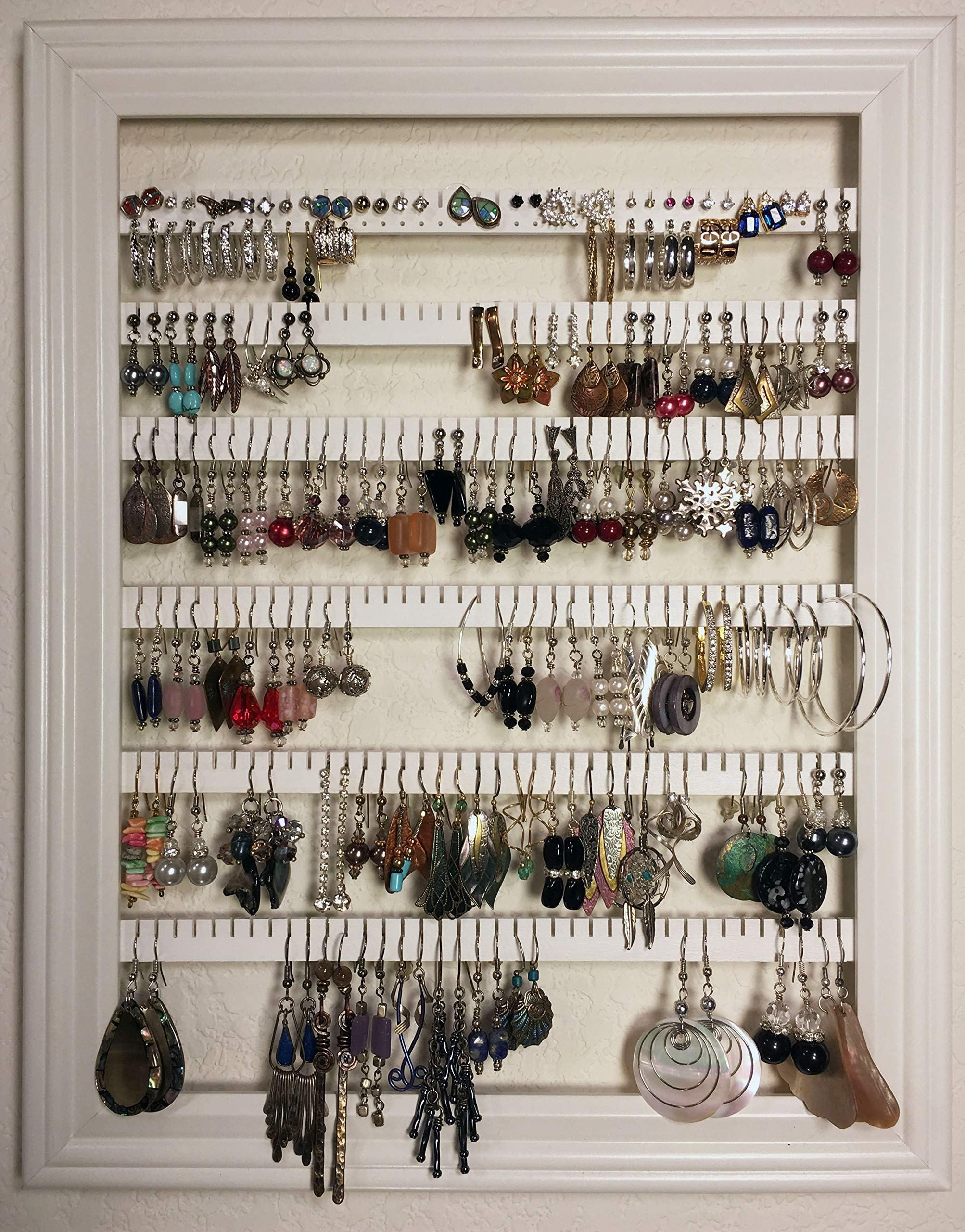 Earring Holder Organizer Storage