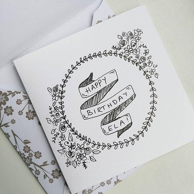 Sehr #einfache #Geburtstagskarte die ich für meine Schwägerin gemacht habe :) ... - B-Day Geschenke - #bday #die #einfache #für #Geburtstagskarte #gemacht #Geschenke #habe #Ich #Meine #Schwägerin #sehr #cardsketches