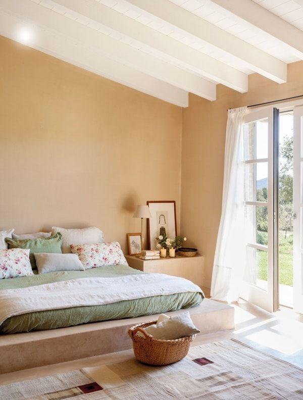 C mo elegir los colores para pintar tu casa pintar casas for Habitaciones dos camas decoracion