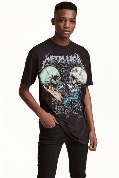 Camiseta con motivo estampado | H&M