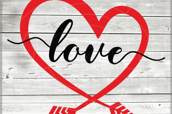 Download Valentine svg - Love svg - Heart svg - Love heart (With ...