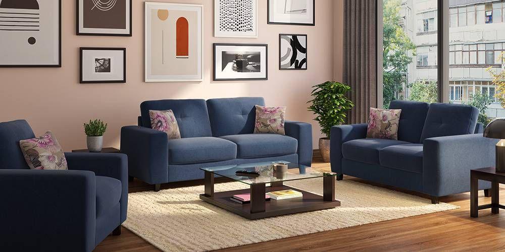 Edward Sofa (Blue) By Urban Ladder | Furniture, Furniture Design Modern, Sofa Set Online