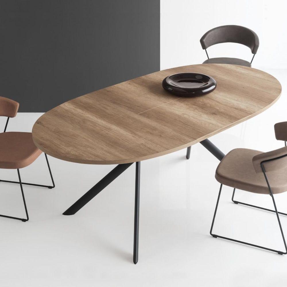 Connubia Calligaris Giove tavolo ovale allungabile in ...