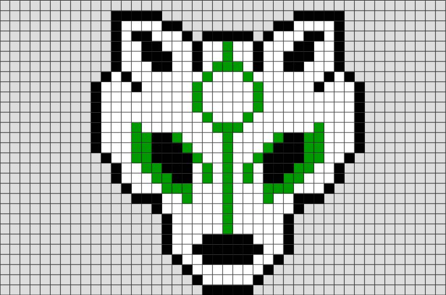 Wolf Pixel Art Pixel Art Pixel Art Templates Anime Pixel Art