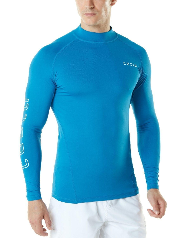 Men's UPF 50+ Long Sleeve Rashguard T71/MSR10/MSR11/MSR12