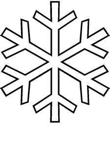 Snowflake Cutout Templates