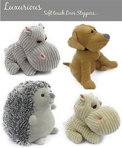 Luxurious Door Stop Door Stopper Soft Touch Animal Weighted Fabric Door Stop Ebay Animal Doorstop Door Stopper Fabric Door Stop