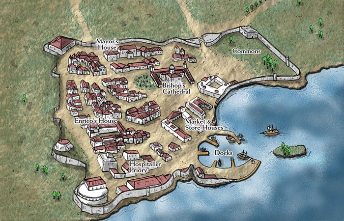 Fantasy Cartography By Sean Macdonald Fantasy City Map Fantasy Map Imaginary Maps