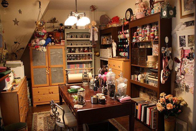 Craft Room Attic Inspiration Craft Room Craft Room Organization