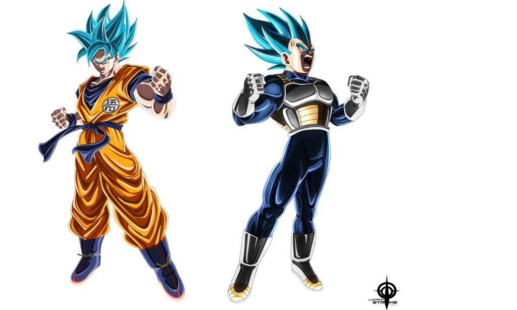 Goku Y Vegeta Ssjblue Movie 2018 By Lucario Strike Goku Dragon Ball Super Goku Dragon Ball Super