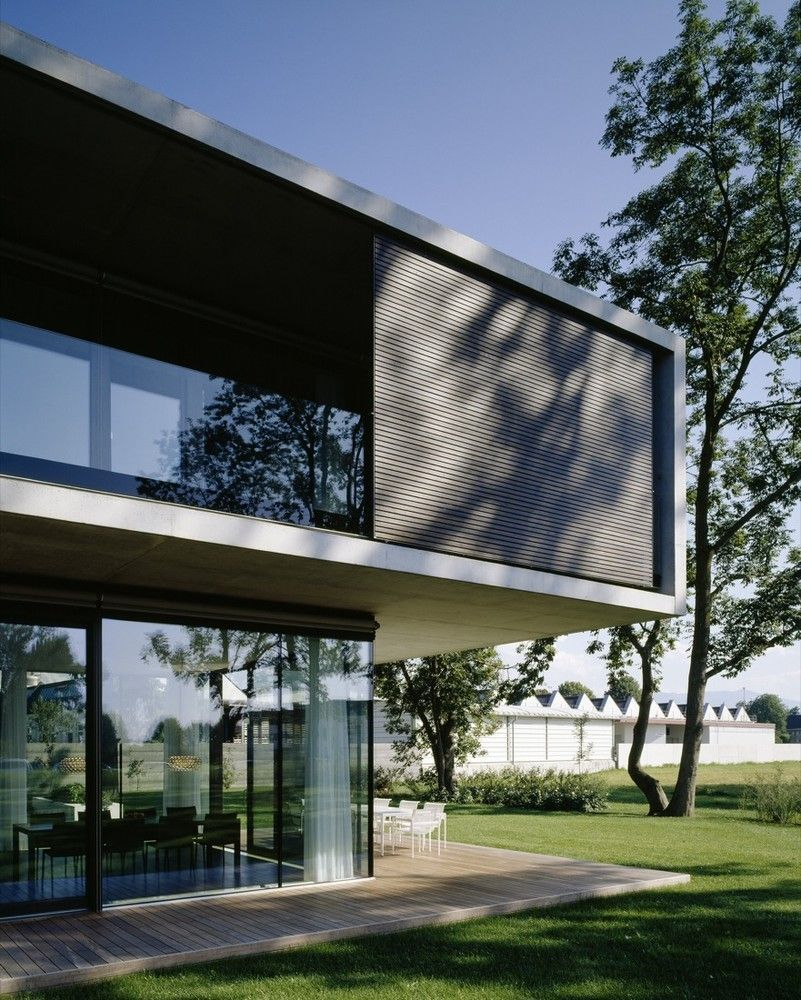 Futuristische Architektur Gallery Of House Lk / Dietrich | Haus Architektur ...