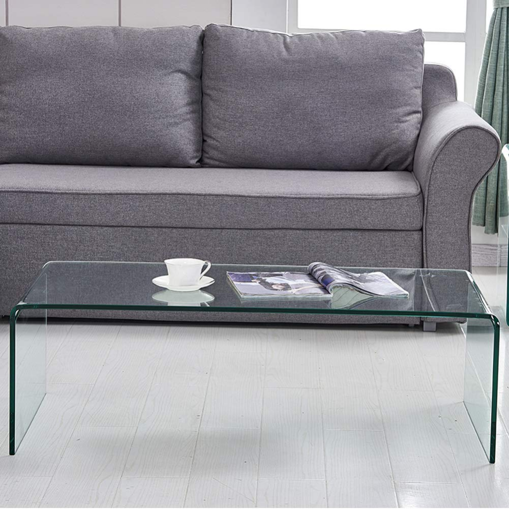 Amazon Com 1 2 Inch Thicken Tempered Glass Home Decor Glass Coffee Tables Modern Decor Clear Cof Clear Coffee Table Coffee Tables For Sale Glass Coffee Table [ 1000 x 1000 Pixel ]