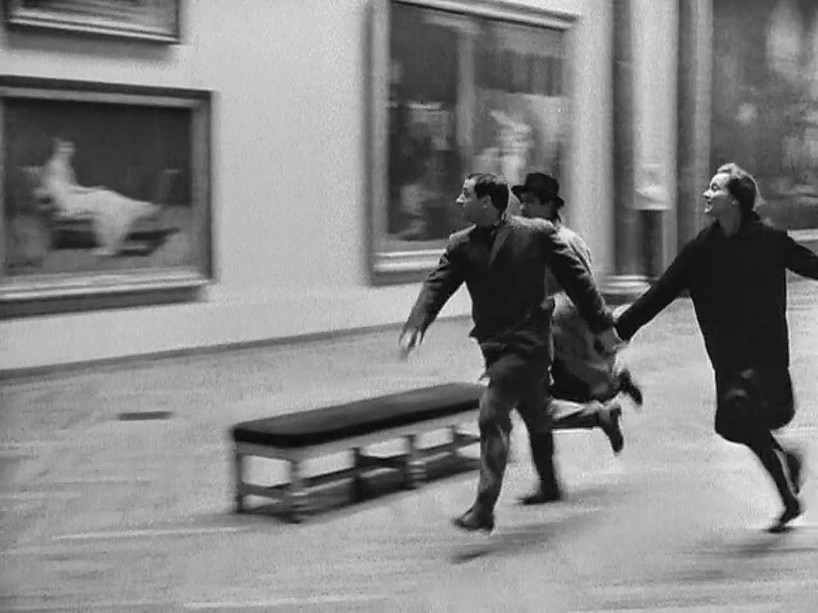 """Fotogramma da """"Bande à part"""" - Jean-Luc Godard (1964)"""