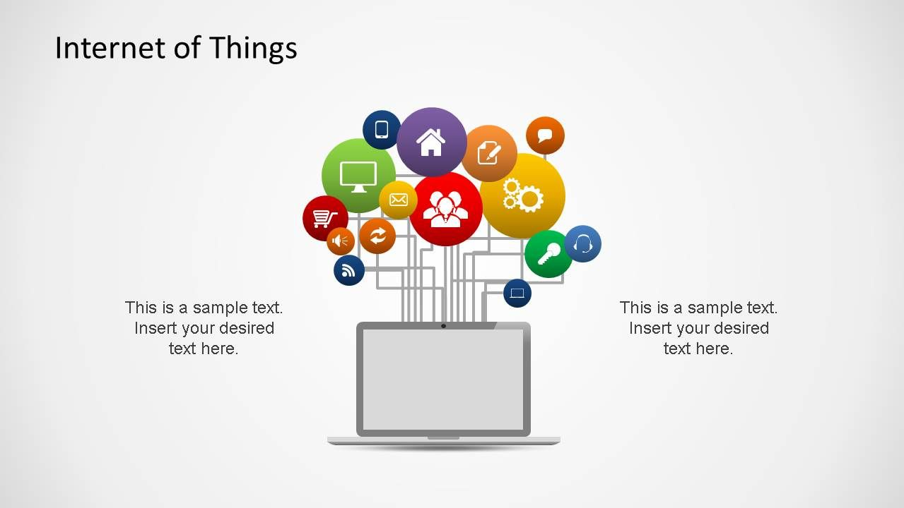 Internet of Things PowerPoint Shapes | slide