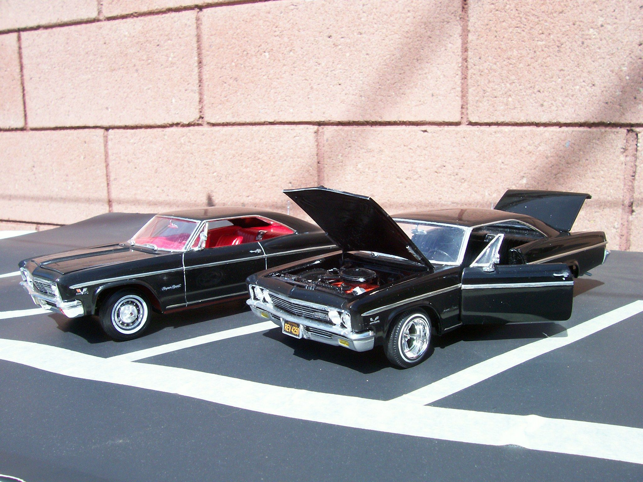 1966 chevy impala 1 25 scale model cars model cars. Black Bedroom Furniture Sets. Home Design Ideas