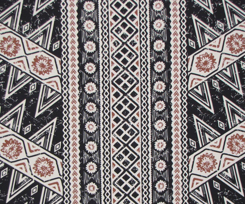 Pics For > Hawaiian Tribal Print Fabric