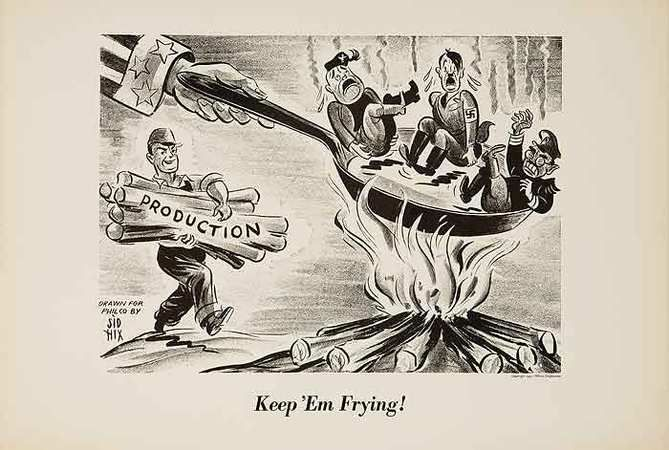Sometimes I wonder if a little pro-production propaganda would do us some good these days...