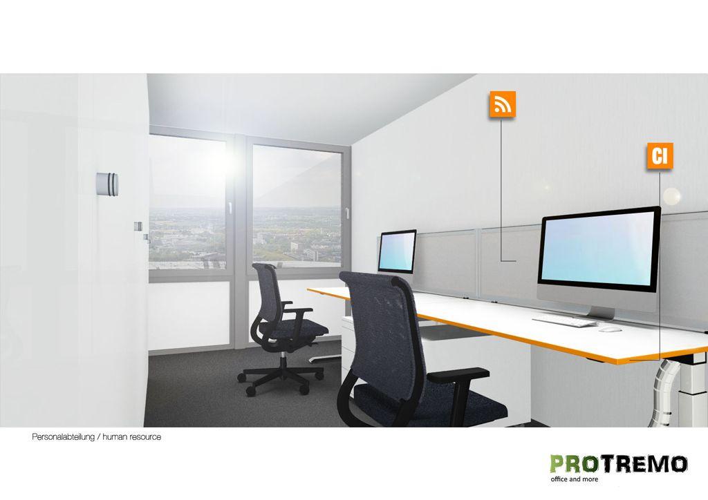 Büroplanung #Büroraumplanung #Büromöbel #PROTREMO ...