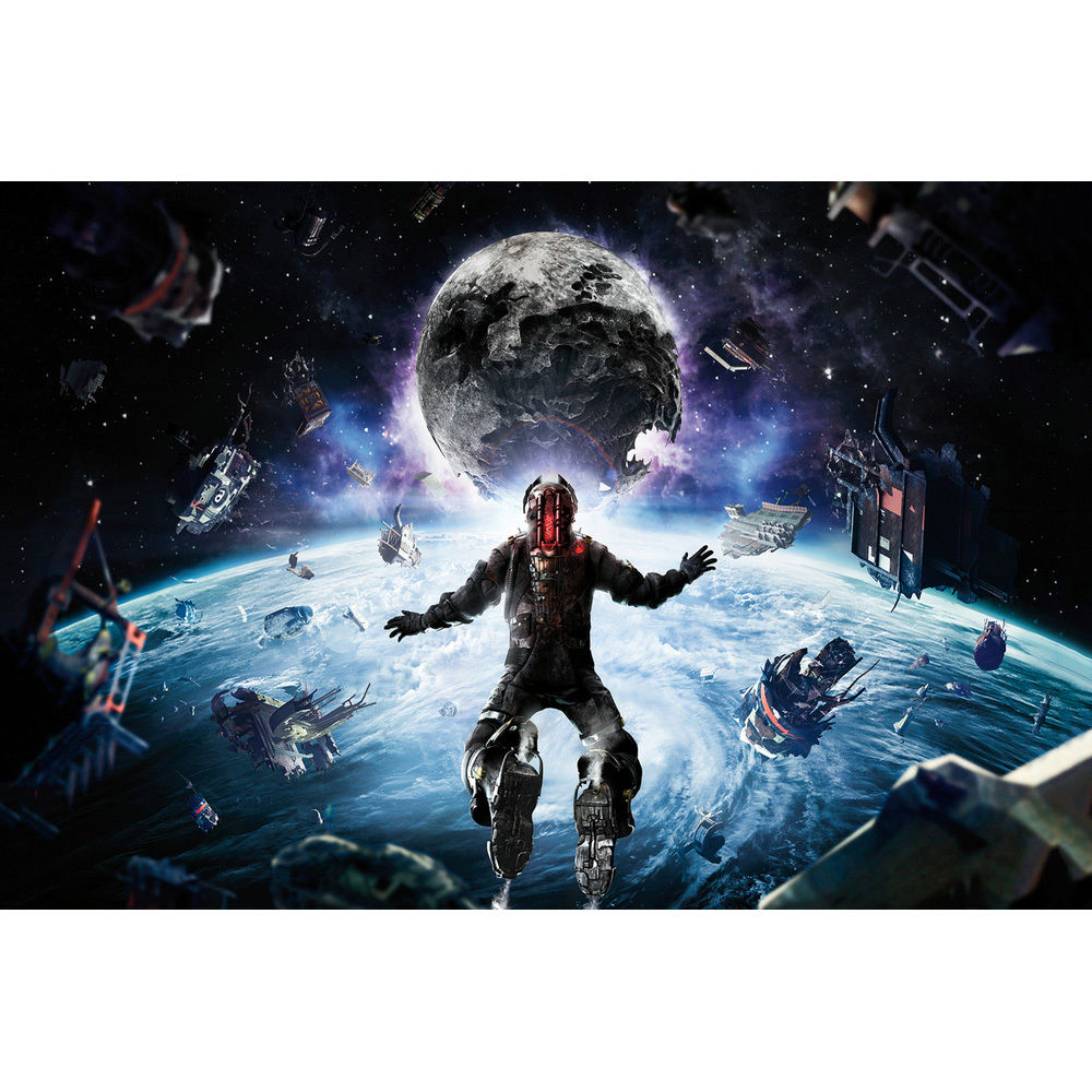 The Thing Movie Silk Poster 13x20 24x36 inch Dead Space 3 Hot Game