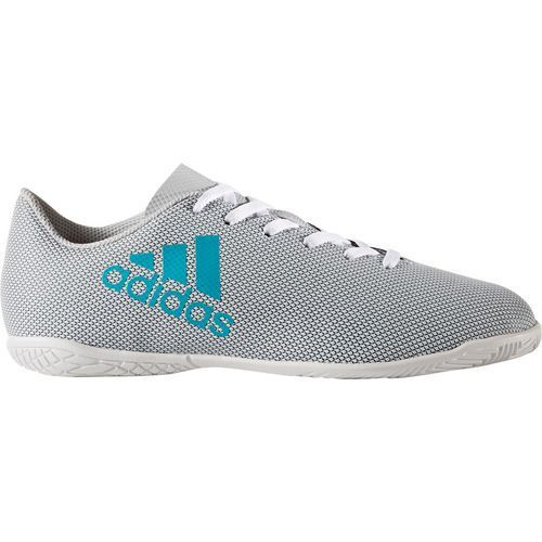 98c249c8d Adidas Boys' X 17.4 J Indoor Soccer Shoes (White/Black, Size 3) - Youth Soccer  Shoes at Academy Sports